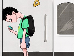 下班后在地铁的我想要一方静谧