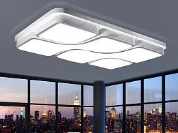 LED吸顶灯详情页设计