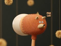 可爱的动物耳机