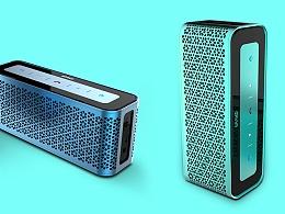 精美的蓝牙音箱设计_音箱外观设计_音箱结构设计