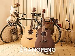 吉他产品拍摄-摄影师张鹏