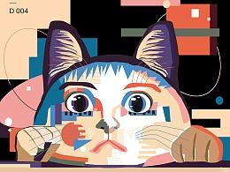 猫の日常习作