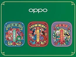 OPPO Enco Free 耳机套设计-节日篇