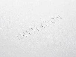 INVITATION丨邀请卡