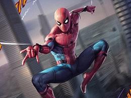《蜘蛛侠:英雄归来》9月8日震撼上映!海报创作附过程