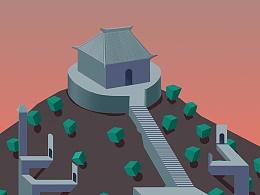 纪念碑谷-商丘火星台