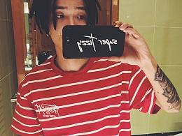 HELL BOY X FREAKISH 你的男孩TT同款 基本款条纹短袖