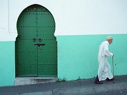 摩洛哥背影