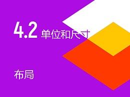 2017 Material Design中文完整版:第四章节第二节《布局:单位和尺寸》