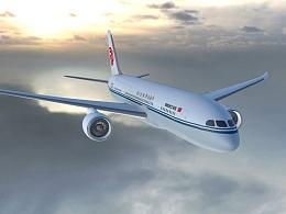 客机 波音787  中国国航 boeing787