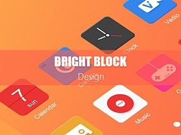 Bright Block主题图标