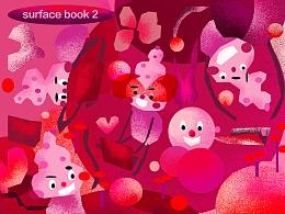 surface book2 - 随时随地爱在身边