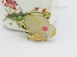 代波军艺术珠宝定制-和田玉-鱼龙漫衍
