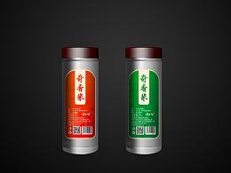 产品包装设计不干胶瓶帖鱼料小药包装设计电商产品包装