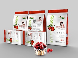 三款红枣包装设计
