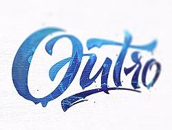 【教程】PS制作颜料手绘字