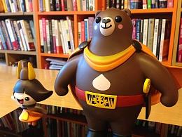 2015德国红点奖 韩国公州市城市吉祥物开发