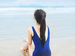 夏日的海边