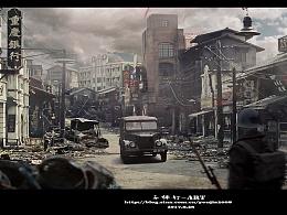 子弹钉-Art-民国重庆