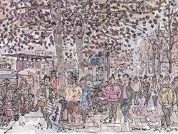 城市脉搏——人民路上的人民