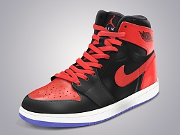 Air Jordan篮球鞋写实风格图标