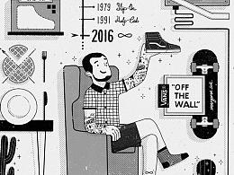 「About Vans」#VANS艺术家# 2016 OFF THE WALL.