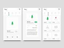 动效设计_日程表