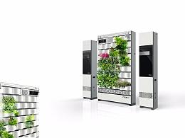 生态绿植墙空气净化系统