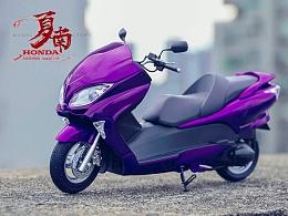 青岛社 1/12 本田Versus Forza踏板车