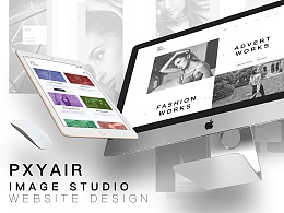 Pxyair Image studio Website design