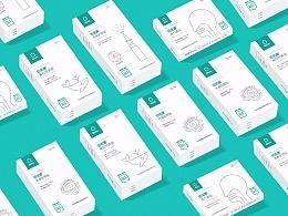 佰偌康家庭医药系列包装