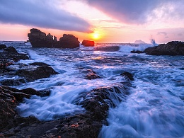 海景慢门拍摄技巧轻松掌握,你看到的风光大片其实很容易。