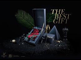 """The Best Gift""产品海报拍摄制作过程"