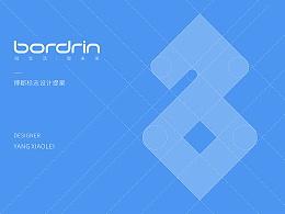 Bordrin logo design II
