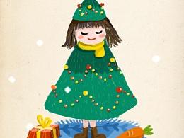 圣诞:christmas_tree:快乐—gif小插画
