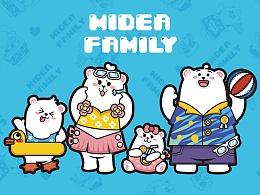 Midea Family 图案创意设计