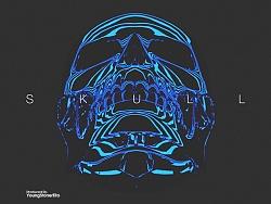 Skull C4D Tutorial制作过程分享