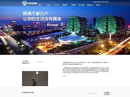 企业网站改版GUI-木林森照明