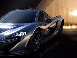 McLaren P1 Keyshot渲染 Photoshop后期教程