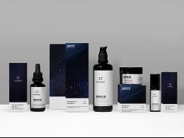 星空主题,化妆品概念包装