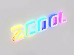 在Photoshop中怎么创建霓虹发光3D文字效果