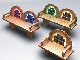 太阳能光电雕塑