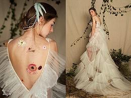 自然与个性,优雅与自由,兰奕的纱