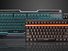 雷柏游戏系列键盘