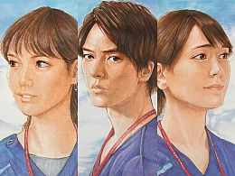 《Code Blue S3》-山下智久/新垣结衣/户田惠梨香-手绘