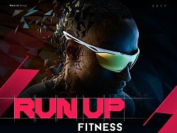 RUN UP 健身APP(Material design)