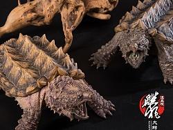 鳄狂返真版——大鳄龟模型