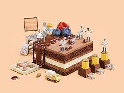ebeecake小蜜蜂蛋糕海报