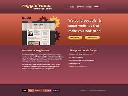 外国网站首页设计