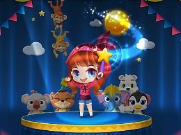 《Fruit Circus》三消游戏